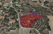#0007, Crete countryside building land with olive trees