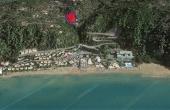 #0445, Sea view land in Corfu near stunning beach